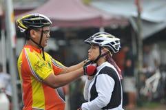 Paseo real 2011 de la ciudad de Pekan Fotos de archivo