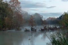 Paseo una tarde del otoño imagen de archivo