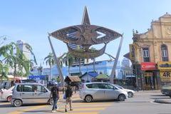 Paseo y mercado central Kuala Lumpur de Kasturi Imagen de archivo