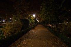 Paseode La Bomba Park in Granada, Spanje stock foto