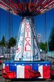 Paseos del carnaval Fotos de archivo libres de regalías