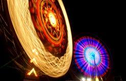 Paseos del carnaval Fotografía de archivo libre de regalías