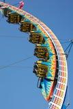 Paseos del parque de atracciones Foto de archivo libre de regalías