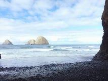 Paseos en la playa Foto de archivo