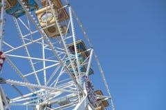 Paseos Ferris Wheel Fotografía de archivo libre de regalías