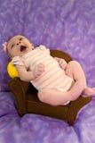 Pasgeboren als Voorzitter royalty-vrije stock foto's
