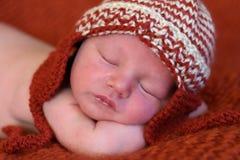 Pasgeboren baby Stock Afbeelding