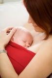 Pasgeboren baby Stock Foto