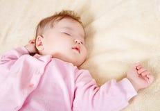 Pasgeboren baby Stock Foto's