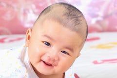 Pasgeboren baby 6. Stock Afbeelding