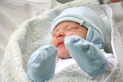 Pasgeboren baby. Stock Afbeelding