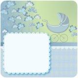 Pasgeboren babyaankondiging Royalty-vrije Stock Fotografie