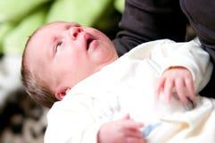Pasgeboren babymeisje royalty-vrije stock afbeelding