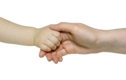Pasgeboren Hand royalty-vrije stock foto