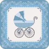 Pasgeboren jongen royalty-vrije illustratie