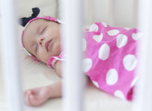 Pasgeboren slaap Stock Afbeeldingen