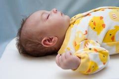 Pasgeboren Thema Ducky Royalty-vrije Stock Afbeelding