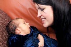 Pasgeboren Zuigeling Stock Foto