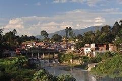 Pashapati. Pashupati temple in Kathmandu, the holiest Hindu site in Nepal Stock Image
