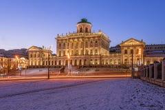 Pashkov dom w ranku fotografia stock