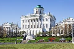 Pashkov Haus. Russland, Moskau. stockfoto