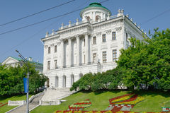 Pashkov House (Russian State Library) Stock Images