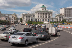 Pashkov House on Vagankovsky Hil Royalty Free Stock Photo