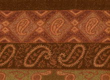 Pashmina  patterns. Royalty Free Stock Images