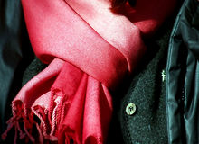 Pashmina rosado Fotografía de archivo