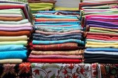 Pashmina scarves Stock Image