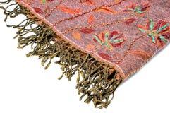 Pashmina shawl. Isolated on white background Royalty Free Stock Photos