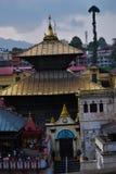 Pashupati Nath świątynia fotografia royalty free