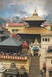 Pashupatinath στοκ εικόνες