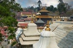 Pashupatinath foto de stock royalty free