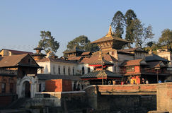 Pashupatinath foto de stock royalty free