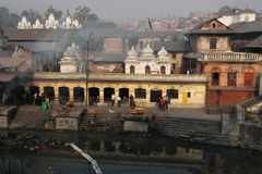 Pashupatinath and Bagmati River Royalty Free Stock Photos