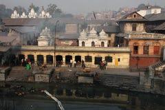 Pashupatinath and Bagmati River Royalty Free Stock Photos