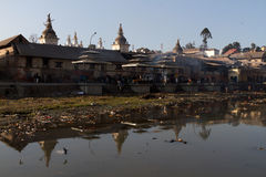 Pashupatinath royalty-vrije stock foto's