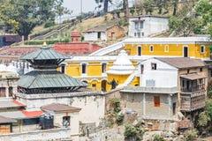 Pashupatinath hindus sacred place Stock Photo