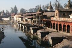 Pashupatinath, Népal Photographie stock libre de droits