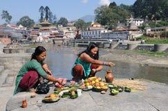 Pashupatinath Ritual Stock Photography