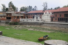 Pashupatinath Tempel lizenzfreies stockfoto