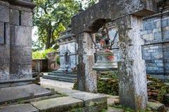Pashupatinath temple complex in Kathmandu Royalty Free Stock Photo