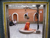 Pashupatinath temple Royalty Free Stock Photography