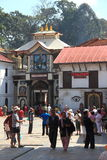 Pashupatinath Temple Main Gate. Royalty Free Stock Image