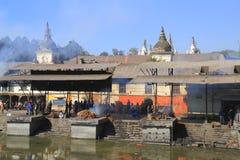 The Pashupatinath Temple Royalty Free Stock Photo