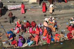 The Pashupatinath Temple Stock Photography
