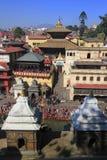 The Pashupatinath Temple Stock Photos
