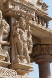 Pashvanath Temple in Khajuraho Stock Images