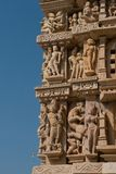 Pashvanath Temple in Khajuraho Stock Photos